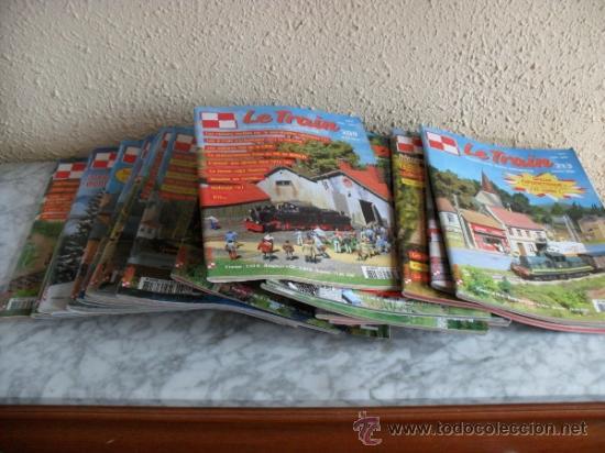 Coleccionismo de Revistas y Periódicos: lote revistas sobre tren,maquetismo,en frances - Foto 2 - 36502170