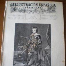 Coleccionismo de Revistas y Periódicos: ILUSTRACION ESPAÑOLA/AMERICANA (15/05/96) GIJON ASTURIAS CUBA MARQUES DE PEÑAPLATA SEVILLA CARNICERO. Lote 36507577
