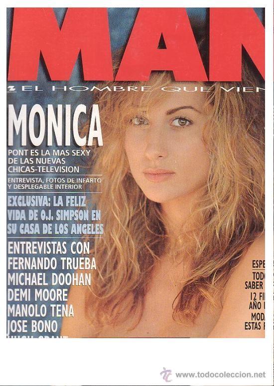 Man Nº 98 1995 Monica Pont Desnuda Bono Lolita Trueba Demi Moore Hugh Grant Tena