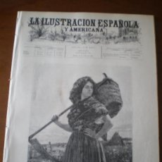 Coleccionismo de Revistas y Periódicos: ILUSTRACION ESPAÑOLA/AMERICANA (15/07/96) CASTELFULLIT VALLADOLID URGEL GINEBRA ROMA COLEGIO ESPAÑOL. Lote 36529485
