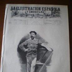 Coleccionismo de Revistas y Periódicos: ILUSTRACION ESPAÑOLA/AMERICANA (30/07/96) MARQUES DE PRAT DE NANTOUILLET PEDREGAL Y CAÑEDO CUBA. Lote 36555411