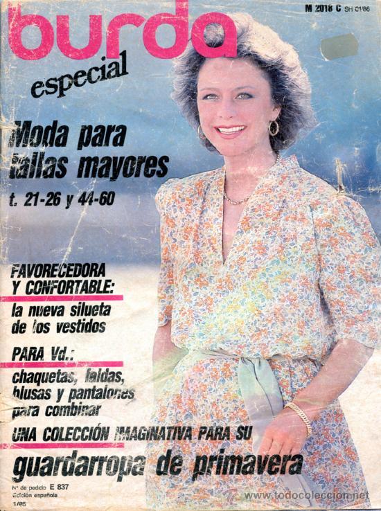 Revista Burda Especial Tallas Grandes Mayore Comprar Otras Revistas Y Periodicos Modernos En Todocoleccion 36543676