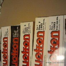 Coleccionismo de Revistas y Periódicos: REVISTAS MAQUETREN ANTIGUAS. Lote 36554388