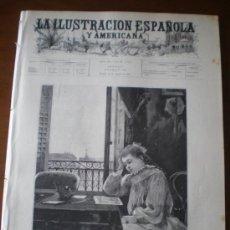 Coleccionismo de Revistas y Periódicos: ILUSTRACION ESPAÑOLA/AMERICANA (15/08/96) CORDOBA GUIPUZOA PASAJES MARQUES DE PINAR DEL RIO CUBA. Lote 36556536