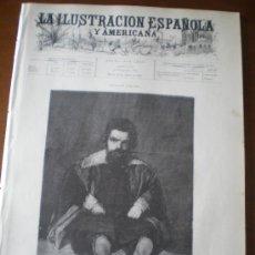 Coleccionismo de Revistas y Periódicos: ILUSTRACION ESPAÑOLA/AMERICANA (30/08/96) VIGO ELDUAYEN CUBA FILIPINAS EDOUARD BISSON. Lote 36557116