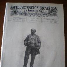 Coleccionismo de Revistas y Periódicos: ILUSTRACION ESPAÑOLA/AMERICANA (08/10/96) BADAJOZ BADALONA CUBA PARAGUAY ARGENTINA TOPHAM. Lote 36562527