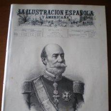 Coleccionismo de Revistas y Periódicos: ILUSTRACION ESPAÑOLA/AMERICANA (30/10/96) MARQUES DE NOVALICHES RODRIGUEZ ABAYTUA FILIPINAS ECHALUCE. Lote 36563711