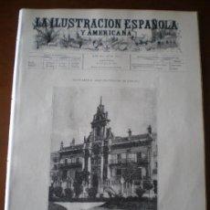 Coleccionismo de Revistas y Periódicos: ILUSTRACION ESPAÑOLA/AMERICANA (15/11/96) VALLADOLID ARMADA ESPAÑOLA CUBA FILIPINAS NUEVITAS. Lote 36564468