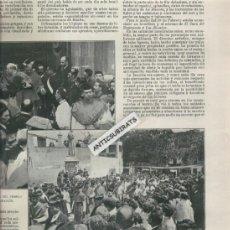 Coleccionismo de Revistas y Periódicos: REVISTA AÑO 1907 ARENYS DE MAR CONSAGRACION DEL NUEVO OBISPO DE GERONA FRANCISCO DE POL BARALT. Lote 36566613
