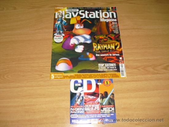 REVISTA PLAYSTATION MAGAZINE CON DEMO PS1 PSX PSONE Nº 45 (Coleccionismo - Revistas y Periódicos Modernos (a partir de 1.940) - Otros)