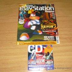 Coleccionismo de Revistas y Periódicos: REVISTA PLAYSTATION MAGAZINE CON DEMO PS1 PSX PSONE Nº 45. Lote 36639858