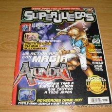 Coleccionismo de Revistas y Periódicos: REVISTA SUPER JUEGOS SUPERJUEGOS Nº 69 ALUNDRA PLAYSTATION . Lote 36645530