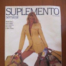 Coleccionismo de Revistas y Periódicos: SUPLEMENTO SEMANAL. 12 JULIO 1992. MARIBEL SANZ. Lote 36751882