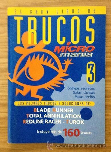 EL GRAN LIBRO DE TRUCOS MICROMANÍA 3 (Coleccionismo - Revistas y Periódicos Modernos (a partir de 1.940) - Otros)