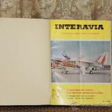 Coleccionismo de Revistas y Periódicos: 2927- INTERVIA. REVISTAAERONAUTICA ASTRONAUTICA. TOMO XXI. 12 NUMEROS 1966.. Lote 36655634