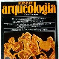 Coleccionismo de Revistas y Periódicos: REVISTA DE ARQUEOLOGÍA Nº 8 / DICIEMBRE 1981 - ZUGARTO EDICIONES - VER ÍNDICE. Lote 36656057