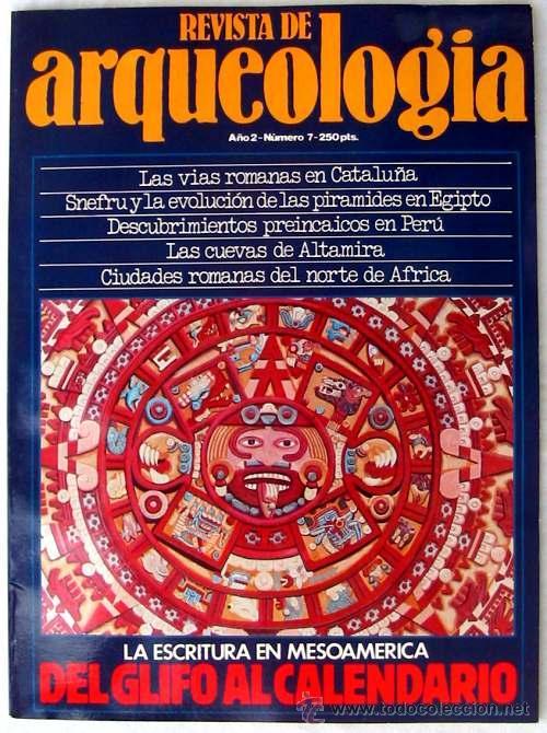 REVISTA DE ARQUEOLOGÍA Nº 7 / NOVIEMBRE 1981 - ZUGARTO EDICIONES - VER ÍNDICE (Coleccionismo - Revistas y Periódicos Modernos (a partir de 1.940) - Otros)