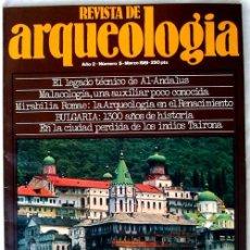Coleccionismo de Revistas y Periódicos: REVISTA DE ARQUEOLOGÍA Nº 5 / SEPTIEMBRE 1981 - ZUGARTO EDICIONES - VER ÍNDICE. Lote 36656098
