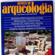 Coleccionismo de Revistas y Periódicos: REVISTA DE ARQUEOLOGÍA Nº 4 / AGOSTO 1981 - ZUGARTO EDICIONES - VER ÍNDICE. Lote 36656123