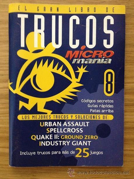 EL GRAN LIBRO DE TRUCOS MICROMANÍA 8 (Coleccionismo - Revistas y Periódicos Modernos (a partir de 1.940) - Otros)