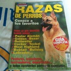 Coleccionismo de Revistas y Periódicos: REVISTA RAZAS DE PERROS GUIA COMPLETA. (PRACTICAMENTE NUEVA). Lote 36675389