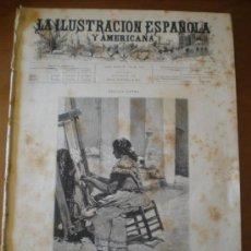 Coleccionismo de Revistas y Periódicos: ILUSTRACION ESPAÑOLA/AMERICANA (22/01/95) SIGUENZA GUADALAJARA VALLADOLID CAMILO CALLEJA ALBAICIN. Lote 36679549