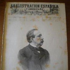 Coleccionismo de Revistas y Periódicos: ILUSTRACION ESPAÑOLA/AMERICANA (22/02/95) RUIZ ZORRILLA MENDEZ BRINGA CHANTRON. Lote 36682564