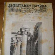 Coleccionismo de Revistas y Periódicos: ILUSTRACION ESPAÑOLA/AMERICANA (28/02/95) VILLAJOYOSA ALICANTE RUIZ ZORRILLA ARMADA ESQUERDO CADIZ. Lote 36682961
