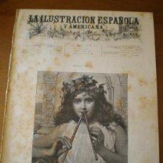 Coleccionismo de Revistas y Periódicos: ILUSTRACION ESPAÑOLA/AMERICANA (22/04/95) ZARAGOZA SANTANDER SUAREZ VALDES ECHAGÚE MADRID SEVILLA . Lote 36685888