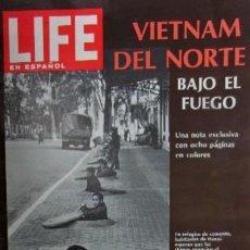 Coleccionismo de Revistas y Periódicos: REVISTA LIFE - AÑO 1967 - EN PORTADA VIETNAM DEL NORTE BAJO EL FUEGO. Lote 163661690