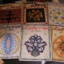 Coleccionismo de Revistas y Periódicos: GRAN LOTE DE ANTIGUAS REVISTAS LABORES DEL HOGAR AÑOS 20-30 CON PATRONES Y SUPLEMENTOS COMPLETAS. Lote 36736083