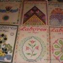 Coleccionismo de Revistas y Periódicos: GRAN LOTE DE ANTIGUAS REVISTAS LABORES DEL HOGAR AÑOS 20-30 CON PATRONES Y SUPLEMENTOS. Lote 36736108