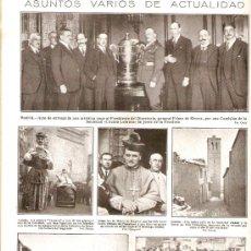 Coleccionismo de Revistas y Periódicos: AÑO 1924.ESCULTURA MATEO INURRIA CORDOBA TOLEDO TARASCA GIGANTE COFRARIA DE SAGRARIO SORIA NEVADA. Lote 36714046