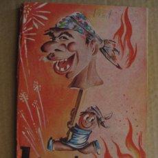 Coleccionismo de Revistas y Periódicos: FALLAS VALENCIA.REVISTA JORNADA FALLERA 1961 PUBLICIDAD V.GARCIA PASCUAL. Lote 36769159