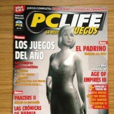 Coleccionismo de Revistas y Periódicos: REVISTA PCLIFE JUEGOS Nº 10 2005. Lote 36799692