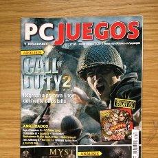 Coleccionismo de Revistas y Periódicos: REVISTA PC JUEGOS Y JUGADORES Nº 85 - 2005 - GUÍA MYST V END OF AGES -. Lote 36800199