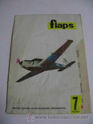 FLAPS REVISTA JUVENIL DE AERONAUTICA, NÚMERO 26 AÑO 1961. (Coleccionismo - Revistas y Periódicos Modernos (a partir de 1.940) - Otros)