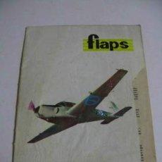 Coleccionismo de Revistas y Periódicos: FLAPS REVISTA JUVENIL DE AERONAUTICA, NÚMERO 26 AÑO 1961.. Lote 36898734