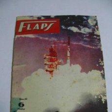 Coleccionismo de Revistas y Periódicos: FLAPS REVISTA JUVENIL DE AERONAUTICA, NÚMERO 23 AÑO 1961.. Lote 36898743