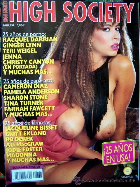 Revista High Society Especial Famosas Desnuda Sold Through
