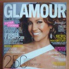 Coleccionismo de Revistas y Periódicos: REVISTA GLAMOUR Nº 31 - MAYO 2005 - JENNIFER LOPEZ EN PORTADA. Lote 36840922