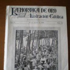 Coleccionismo de Revistas y Periódicos: LA HORMIGA DE ORO Nº 33 (18/08/23) MARTES HUESCA DANCAIRES CALAFELL SOROLLA CARABANCHEL SABADELL. Lote 36861833