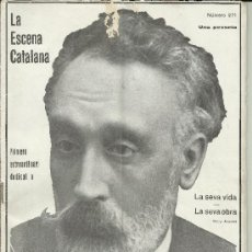 Coleccionismo de Revistas y Periódicos: LA ESCENA CATALANA NUMERO 271 EXTRAORDINARI DEDICAT A IGNASI IGLÉSIES. Lote 36866544