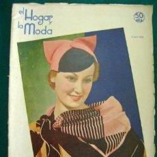 Coleccionismo de Revistas y Periódicos: REVISTA EL HOGAR Y LA MODA DEL 5 ABRIL 1935. Lote 36926223