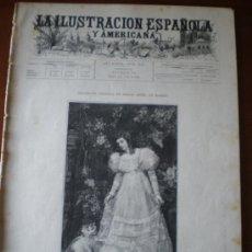 Coleccionismo de Revistas y Periódicos: ILUSTRACION ESPAÑOLA/AMERICANA (08/06/95) MADRID CUBA ARMADA BENLLIURE TRUEBA LUBIN MARQUES ALELLA. Lote 36930285