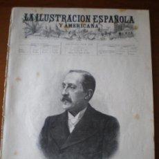 Coleccionismo de Revistas y Periódicos: ILUSTRACION ESPAÑOLA/AMERICANA (15/08/95) VIZCAYA LUIS ALVAREZ MANZANILLO CUBA. Lote 36943907