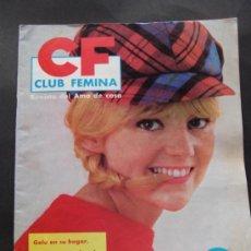 Coleccionismo de Revistas y Periódicos: REVISTA CF CLUB FEMINA, REVISTA DEL AMA DE CASA OCTUBRE DE 1964 N.28. Lote 36947215