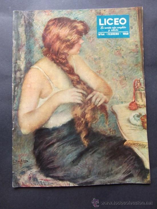 REVISTA LICEO NUMERO 54 FEBRERO 1950 (Coleccionismo - Revistas y Periódicos Modernos (a partir de 1.940) - Otros)