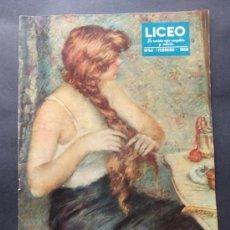 Coleccionismo de Revistas y Periódicos: REVISTA LICEO NUMERO 54 FEBRERO 1950. Lote 36952241
