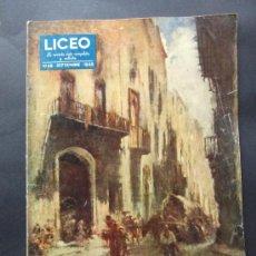 Coleccionismo de Revistas y Periódicos: REVISTA LICEO NUMERO 49 SEPTIEMBRE 1949. Lote 36952271